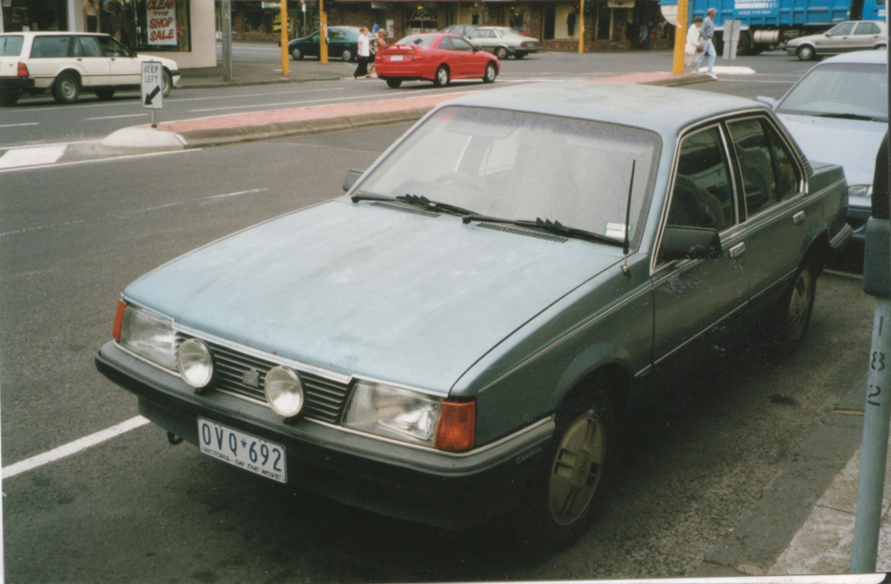 1982 Jb Holden Camira Sl E Sedan